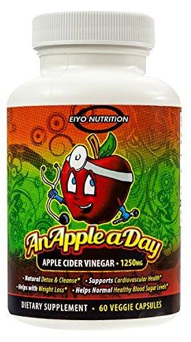 كبسولات خل التفاح من Eiyo Nutrition لحرق الدهون والتخلص من السموم