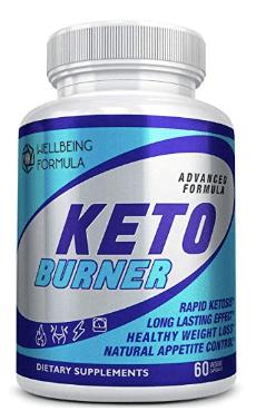 صيغة الرفاهية كيتو بيرنر  (Wellbeing Formula Keto Burner) لحرق الدهون